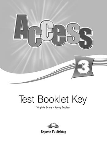 Access 3: Test Booklet Key