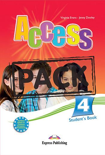 ACCESS 4 STUDENT'S BOOK PACK (+ GRAMMAR ENGLISH + iebook)