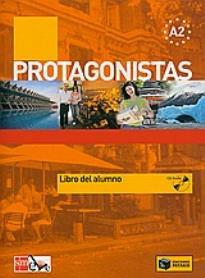 PROTAGONISTAS A2 ALUMNO (+ CD)