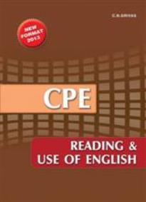 CPE READING & USE OF ENGLISH 2013 SB N/E