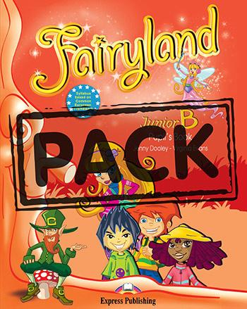 FAIRYLAND JUNIOR B STUDENT'S BOOK PACK (+ BOOKLET + CD + DVD) +IEBOOK