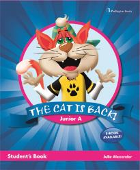 THE CAT IS BACK JUNIOR A STUDENT'S BOOK (+ BOOKLET)