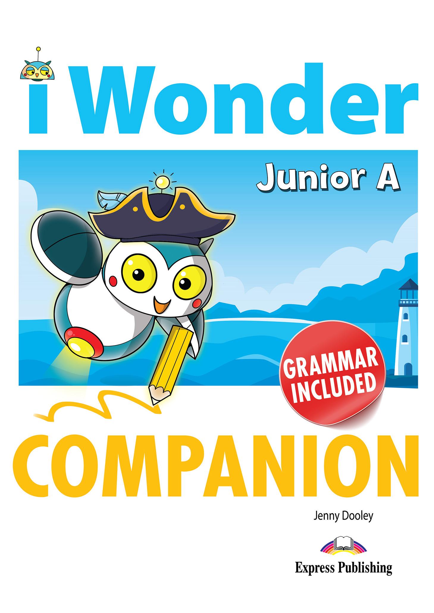 iWONDER JUNIOR A COMPANION & GRAMMAR