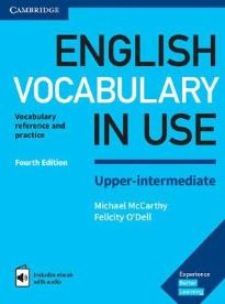 ENGLISH VOCABULARY IN USE UPPER-INTERMEDIATE STUDENT'S BOOK (+ CD-ROM) W/A (+ ENHANCED E-BOOK) 4TH ED