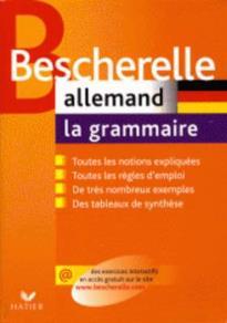 BESCHERELLE LA GRAMMAIRE ALLEMAND N/E FL