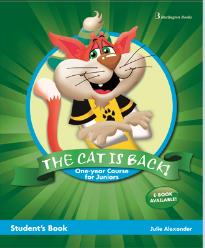 THE CAT IS BACK JUNIOR A & B STUDENT'S BOOK (+ BOOKLET + PICTURE DICTIONARY)
