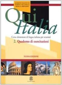 QUI ITALIA - 2 QUADERNO DI ESERCITAZIONI N/E