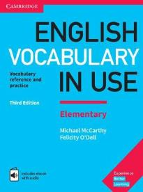 ENGLISH VOCABULARY IN USE ELEMENTARY STUDENT'S BOOK W/A (+ ENHANCED E-BOOK) 3RD ED