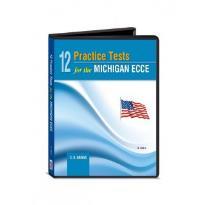 12 PRACTICE TESTS MICHIGAN ECCE CD CLASS (6) 2013 N/E