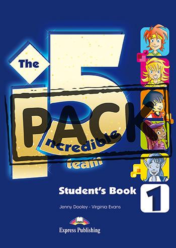 INCREDIBLE 5 TEAM 1 POWER PACK (+ WORKBOOK DIGIBOOKS APP)