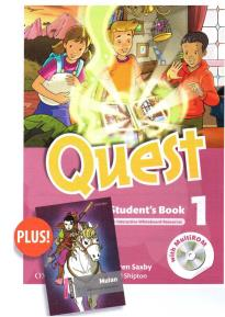 QUEST 1 STUDENT'S BOOK (+ CD) & READER PACK (OD STARTER: MULAN)