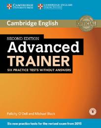 CAMBRIDGE ENGLISH ADVANCED TRAINER (+ ONLINE AUDIO) 2ND ED