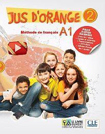 JUS D'ORANGE SUPER PACK ENERGIE 2 A1 (METHODE + CAHIER + DVD ROM + CARTE RONDE DE L'ANNEE + TRANSCRIPTIONS)