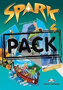 SPARK 4 POWER PACK 2 (+ SPARK 4 PRESENTATION SKILLS + IT'S GRAMMAR TIME 4 + IEBOOK)