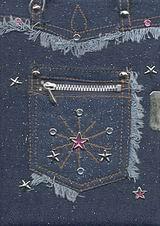 Τζιν τσέπη με κλειδαριά