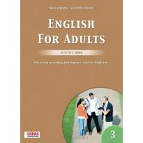 ENGLISH FOR ADULTS 3 WORKBOOK