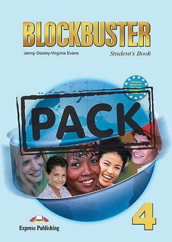 BLOCKBUSTER 4 STUDENT'S BOOK PACK (+ READER + CD)