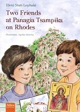 Two Friends at Panagia Tsampika on Rhodes