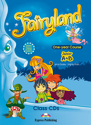 Fairyland Junior A+B: Class Audio CDs