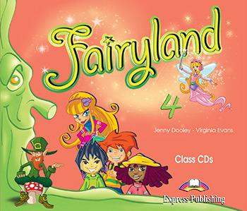 Fairyland 4: Class Audio CDs