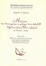 Memoire sur l΄etat physique et politique des isles d΄Hydra, Specie, Poro et Ipsera en l΄annee 1808