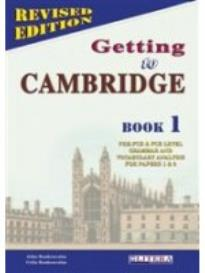 Getting to Cambridge Book 1: Teacher's Book