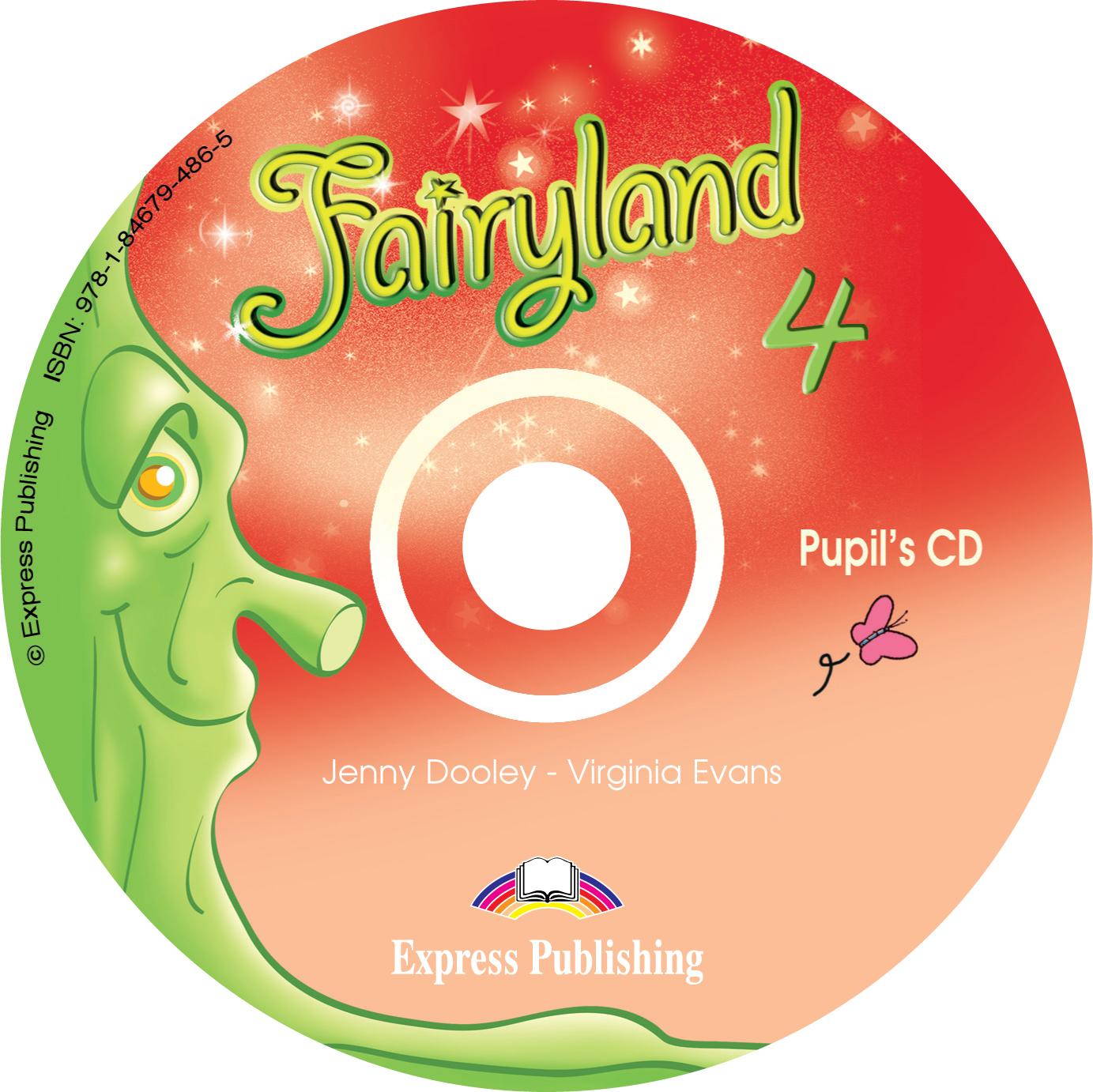 Fairyland 4: Pupil's Audio CD