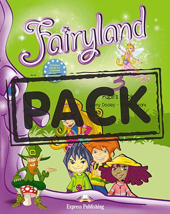 FAIRYLAND 3 STUDENT'S BOOK (+ CD + DVD) (+ IEBOOK)