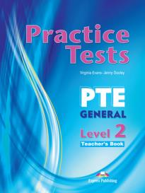 PTE GENERAL 2 B1 PRACTICE TESTS Teacher 's book