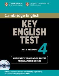 CAMBRIDGE KEY ENGLISH TEST 4 SELF STUDY PACK (+ CD) 2ND ED