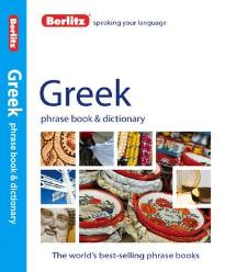 BERLITZ: GREEK PHRASE BOOK & DICTIONARY  PB
