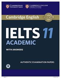 CAMBRIDGE IELTS 11 ACADEMIC SELF STUDY PACK (+ DOWNLOADABLE AUDIO)