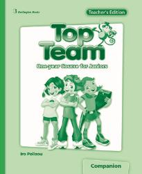TOP TEAM JUNIOR A & B TEACHER'S BOOK  COMPANION