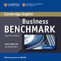 BUSINESS BENCHMARK UPPER-INTERMEDIATE BEC + BULATS CD AUDIO CLASS 2ND ED
