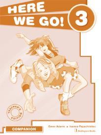 HERE WE GO 3 TEACHER'S BOOK  COMPANION