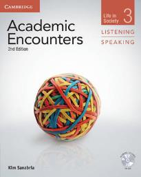 ACADEMIC ENCOUNTERS 3 STUDENT'S BOOK (+ DVD) LIFE IN SOCIETY LISTENING & SPEAKING 2ND ED