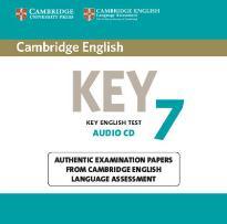 CAMBRIDGE KEY ENGLISH TEST 7 CD