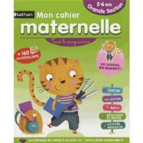 MON CAHIER D'ECOLE MATERNELLE GRANDE SECTION (5-6 ANS)