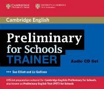 CAMBRIDGE ENGLISH PRELIMINARY FOR SCHOOLS TRAINER CD (3)