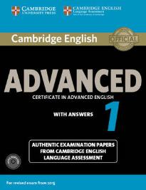 CAMBRIDGE ENGLISH ADVANCED 1 SELF STUDY PACK (FOR REVISED EXAM FROM 2015)