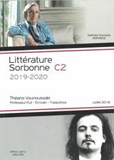 LITTERATURE SORBONNE C2 2019-2020 (ENFANCE & UBU ROI)