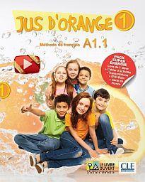 JUS D'ORANGE SUPER PACK ENERGIE 1 A1.1 (METHODE + CAHIER + DVD ROM + CARTE DE FRANCE + TRANSCRIPTIONS)