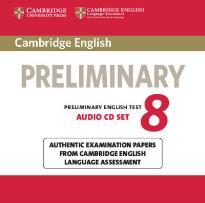 CAMBRIDGE PRELIMINARY ENGLISH TEST 8 CD (2)