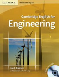 CAMBRIDGE ENGLISH FOR ENGINEERING STUDENT'S BOOK (+ CD)