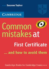 COMMON MISTAKES AT FCE … AND HOW TO AVOID THEM