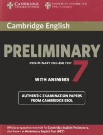 CAMBRIDGE PRELIMINARY ENGLISH TEST 7 SELF STUDY PACK (+ 2 CD)