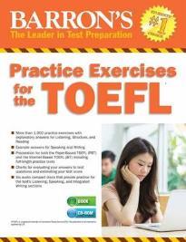BARRON'S PRACTICE EXERCISES FOR THE TOEFL (+ CD-ROM)