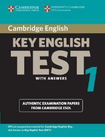 CAMBRIDGE KEY ENGLISH TEST 1 STUDENT'S BOOK W/A 2ND ED