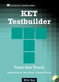 KET TESTBUILDER STUDENT'S BOOK (+ CD) WITH KEY N/E