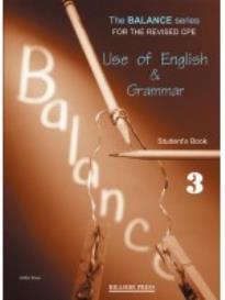 BALANCE 3 CPE (USE OF ENGLISH + GRAMMAR) GLOSSARY REVISED